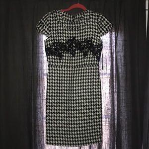 Karl Lagerfeld houndstooth dress